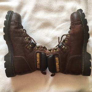 Caterpillar steel toe shoes size 6 1/2